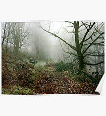 Malvern Hills : Winter Poster