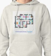 House of Simpson family - First Floor Pullover Hoodie