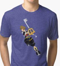 Sora (Kingdom Hearts) Tri-blend T-Shirt