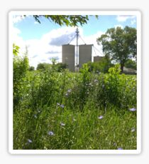 Grain Bins  Sticker