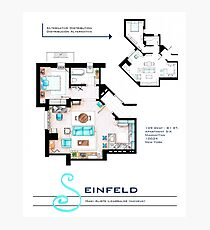 Seinfeld Apartment Photographic Print