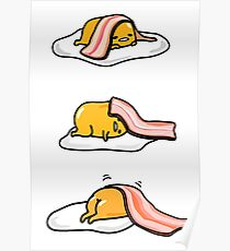 Gudetama - I don't want to get up Poster