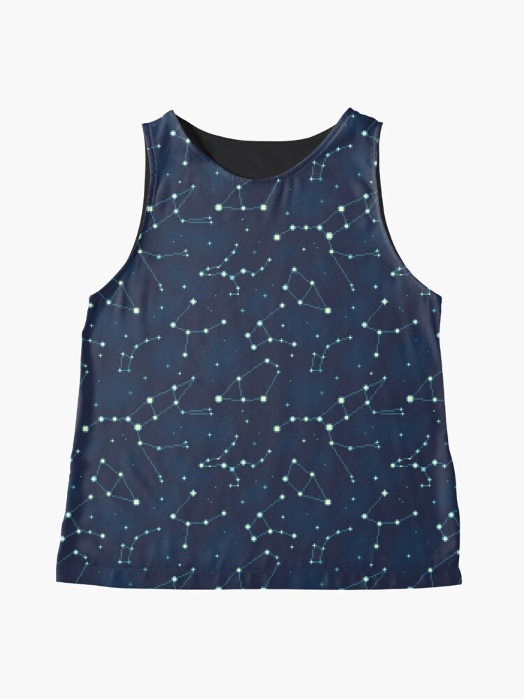 Alternate view of Constellation Pattern (A) Sleeveless Top