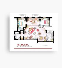 Ted Mosby's apartment from 'HIMYM' Canvas Print