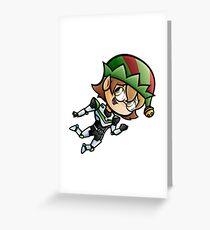 Holidays - Pidge - Elf on the Shelf Greeting Card