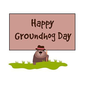 Happy Groundhog Day 2019 by vladocar