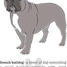 French Bulldog - Blue by grumpyteds