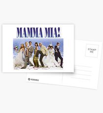 Mamma Mia Besetzung Poster Postkarten