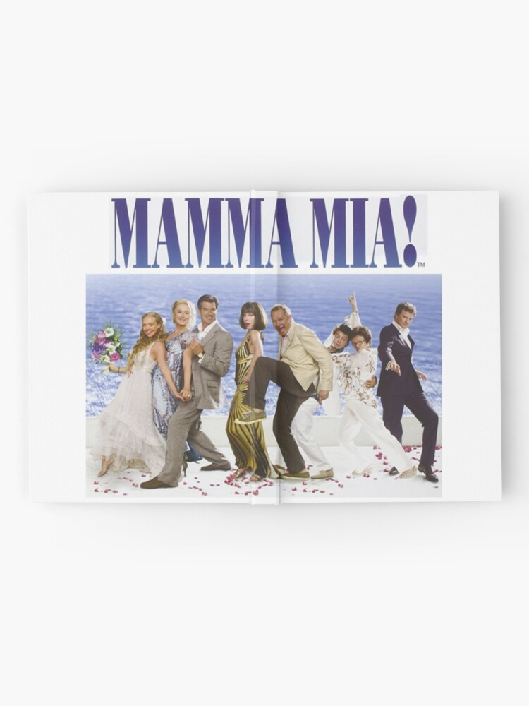Alternate view of Mamma Mia Cast Poster Hardcover Journal