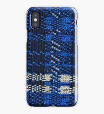 Blue Knit Fabric iPhone Case/Skin