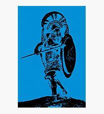 Greek Hoplite - Ancient Warfare Photographic Print