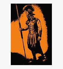 Spartan Warrior - After Battle Photographic Print