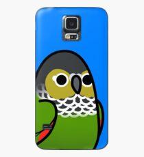 Funda/vinilo para Samsung Galaxy ¡Demasiadas aves! - Black Capped Conure!