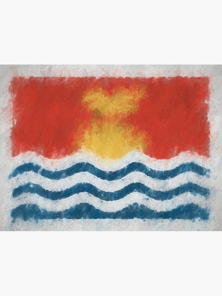 Kiribati Flag Reworked No. 66, Series 4 by 8th-and-f