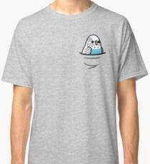 Too Many Birds! - Blue Budgie Classic T-Shirt