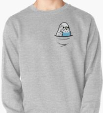 Too Many Birds! - Blue Budgie Pullover