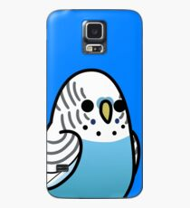 Too Many Birds! - Blue Budgie Case/Skin for Samsung Galaxy