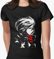 The world is cruel and also very beautiful Women's Fitted T-Shirt