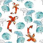 Waterlily koi by adenaJ