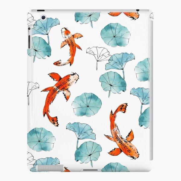 Waterlily koi iPad Snap Case
