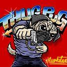 Thug Pug by Meerkatsu