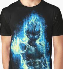 Vegeta Blue Black Graphic T-Shirt