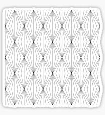 Diamanten-Muster Sticker