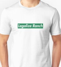 Legalize Ranch - Grün Slim Fit T-Shirt