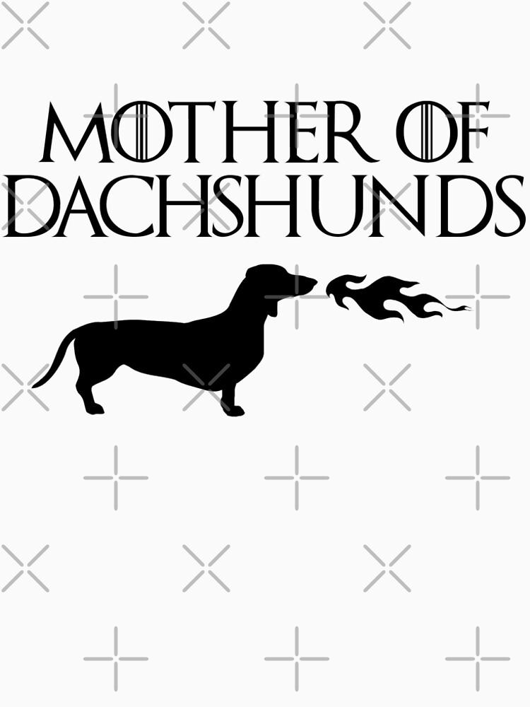 Mother of Dachshunds (Black) by JStuartArt