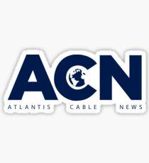 ACN. Fan Art of The Newsroom serie Sticker