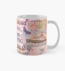 Louisa May Alcott inpirational STORM quote Mug