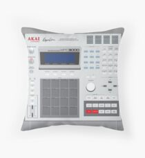 AKAI MPC 3000 Throw Pillow