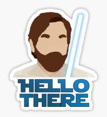 Obi Wan Hello there Sticker
