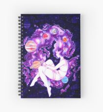 Galaxy Girl 2016 Spiral Notebook