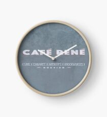 CAFE RENE Clock
