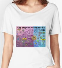 The Map of Mathematics Women's Relaxed Fit T-Shirt