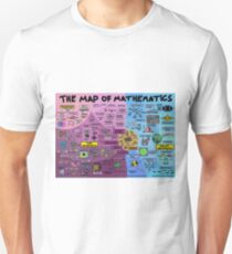 The Map of Mathematics T-Shirt