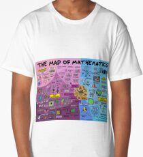 The Map of Mathematics Long T-Shirt