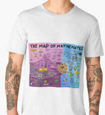 The Map of Mathematics Men's Premium T-Shirt