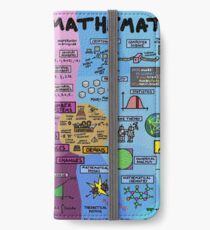 The Map of Mathematics iPhone Wallet/Case/Skin