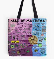 Die Karte der Mathematik Tote Bag