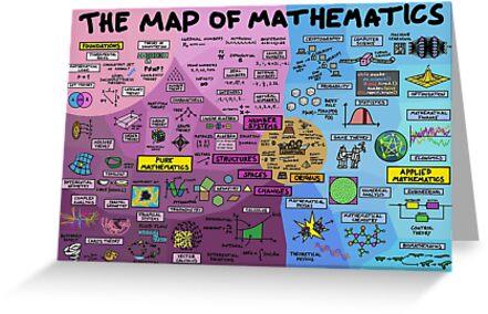 Die Karte der Mathematik von DominicWalliman