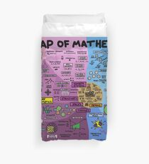 The Map of Mathematics Duvet Cover