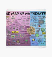 Pañuelo El mapa de las matemáticas