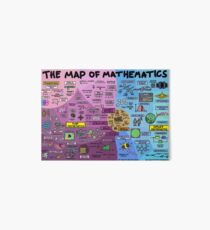 The Map of Mathematics Art Board