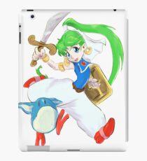 Asha- Monster World 4 (Genesis)  iPad Case/Skin