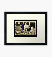 Living in the future past. Framed Print
