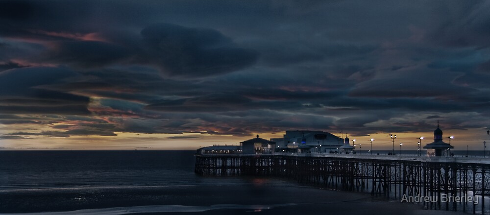 North Pier - Blackpool by Andrew Brierley