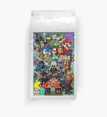 Video Game History Duvet Cover