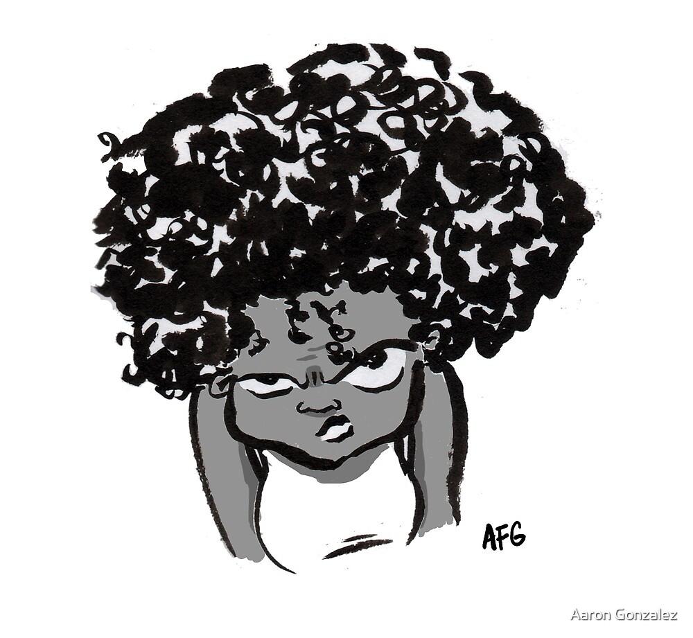 Annoyed Little Girl by Aaron Gonzalez